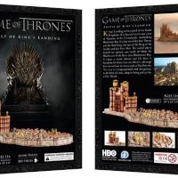 GAME OF THRONES KINGS LANDING 3D PUZZLE